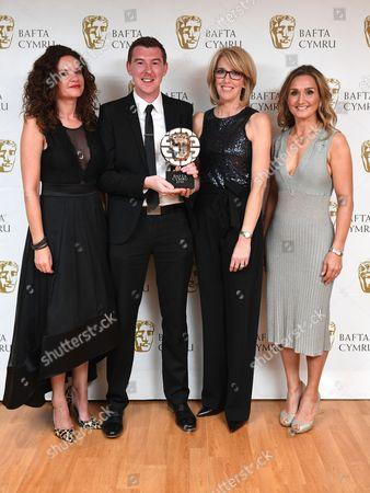 Editorial image of BAFTA Cymru Awards, Press Room, Cardiff, Wales, UK - 02 Oct 2016
