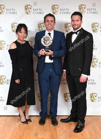 Naoko Mori, Ed Talfan and Gareth David-Lloyd