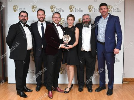 Editorial image of BAFTA Cymru Awards, Press Room, Cardiff, Wales, UK - 02 Oct 2016