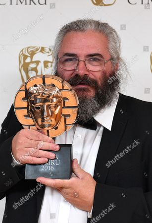 Madoc Roberts winner of Editing Award for Tim Rhys Evans - All in the Mind - Double agent Films Ltd