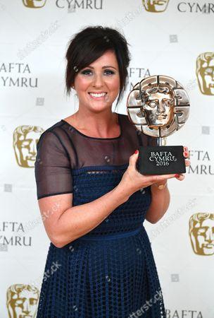 Mali Harries winner of Actress Award for Dl Mared Rhys in Y Gwyll/Hinterland - Hinterland Films 2Ltd/Fiction Factory/BBC Wales/S4C