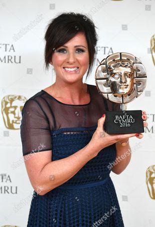 Editorial photo of BAFTA Cymru Awards, Press Room, Cardiff, Wales, UK - 02 Oct 2016