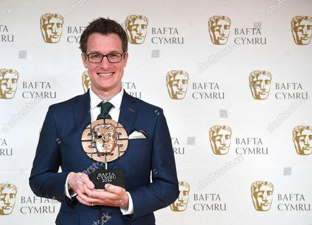 Will Millard winner of Presenter award in Hunters of the South Seas - Indus