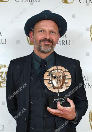 Editorial picture of BAFTA Cymru Awards, Press Room, Cardiff, Wales, UK - 02 Oct 2016