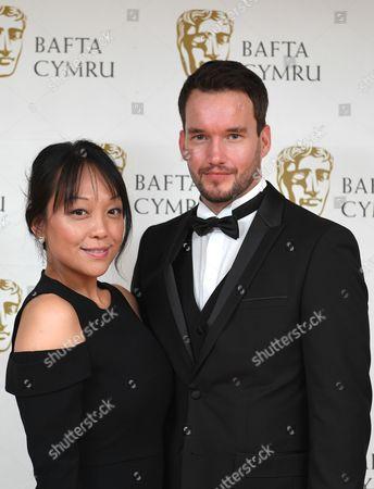 Naoko Mori and Gareth David-Lloyd