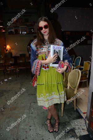 Editorial photo of Manish Arora show, Backstage, Spring Summer 2017, Paris Fashion Week, France - 29 Sep 2016