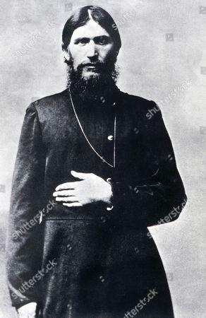 Stock Image of Grigoriy Efimovich RASPUTIN, 1869-1916 Russian peasant and self-styled religious master, photograph c. 1910-16