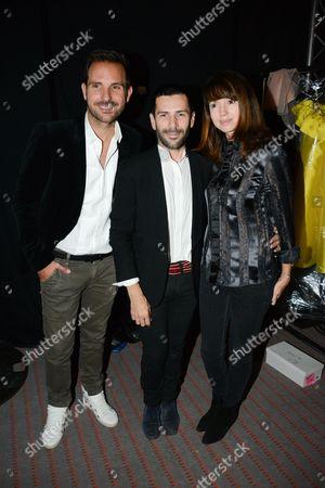 Christophe Michalak, Alexis Mabille, Delphine McCarty