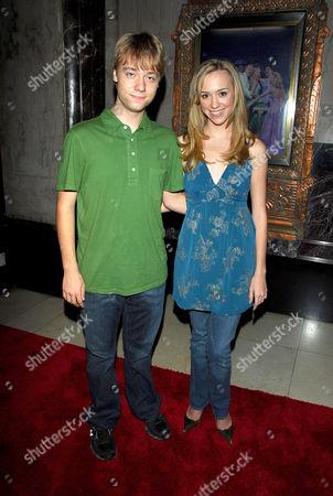 Stock Image of Cameron Bowen and Andrea Bowen