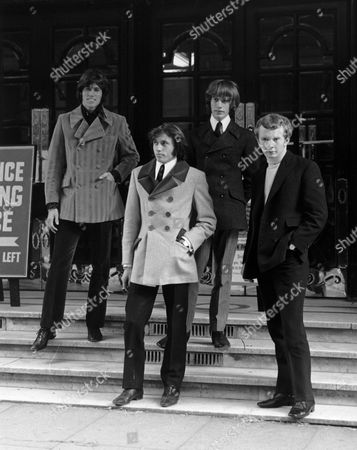 The Bee Gees - Barry Gibb, Maurice Gibb, Robin Gibb, Colin Petersen