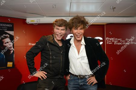 Editorial image of Igor Bogdanov and Grichka Bogdanov 'Le livre des merveilles technologiques' book signing, Paris, France - 29 Sep 2016