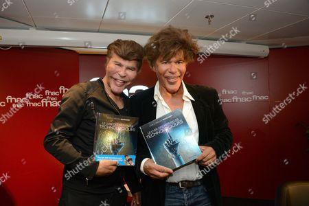 Editorial photo of Igor Bogdanov and Grichka Bogdanov 'Le livre des merveilles technologiques' book signing, Paris, France - 29 Sep 2016