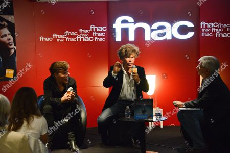 Editorial picture of Igor Bogdanov and Grichka Bogdanov 'Le livre des merveilles technologiques' book signing, Paris, France - 29 Sep 2016