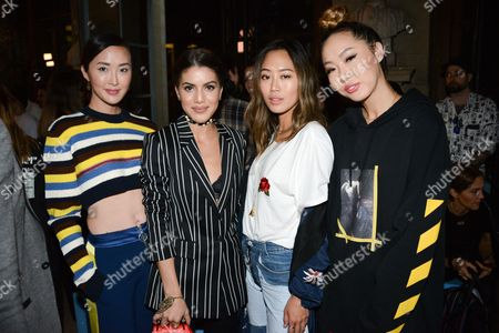 Chriselle Lim, Camila Coelha, Aime Song, Dani Song