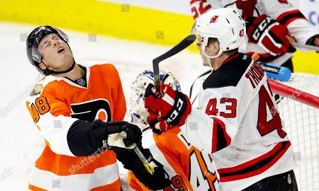 Editorial photo of New Jersey Devils v Philadelphia Flyers, NHL preseason hockey game, Allentown, USA - 28 Sep 2016