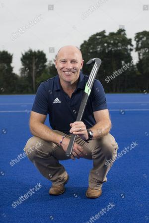 Editorial image of Hockey coach Danny Kerry at Bisham Abbey National Sports Centre, Berkshire, UK - 07 Sep 2016