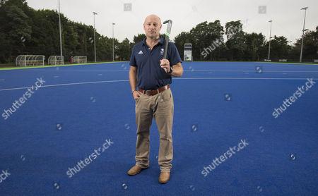 Stock Photo of Danny Kerry (Olympic Gold winning GB hockey coach)