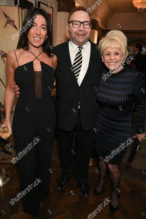 Katrina Sedley, Jonathan Shalit and Dame Barbara Windsor