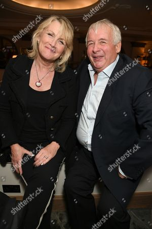 Louise Fennell and Christopher Biggins