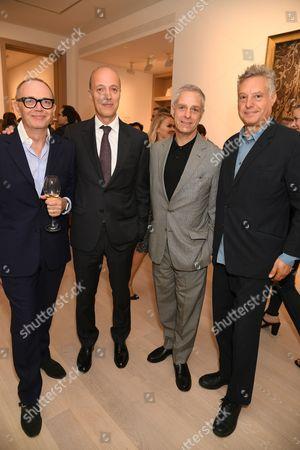 Tom Croft, Per Skarstedt, David Rosen and Peter Fleissig