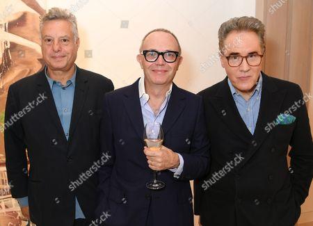 Peter Fleissig, Tom Croft and Peter York