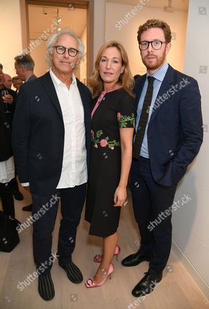 Eric Fischl, Bona Colonna Montagu and Nicholas Cullinan