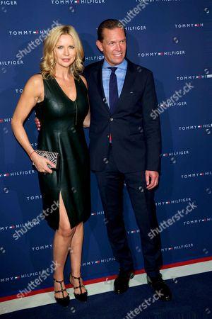 Veronica Ferres and Daniel Grieder