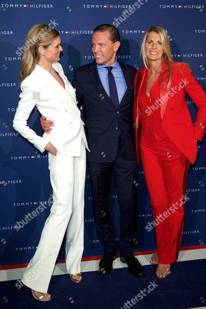 Festival director Nadja Schildknecht, CEO Tommy Hilfiger and PVH Daniel Grieder and his wife Sandra