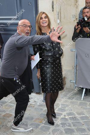 Editorial image of Christian Dior show, Spring Summer 2017, Paris Fashion Week, France - 30 Sep 2016
