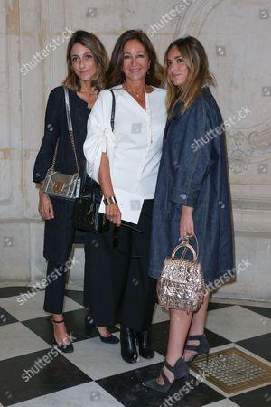 Katia Toledano and her daughters