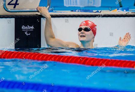Editorial image of Rio 2016 Paralympic Games, Swimming, Olympic Aquatics Stadium, Brazil - 17 Sep 2016