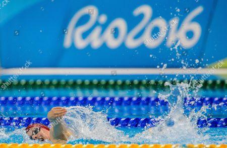 Editorial picture of Rio 2016 Paralympic Games, Swimming, Olympic Aquatics Stadium, Brazil - 17 Sep 2016