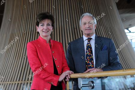 Editorial image of UKIP Leader Diane James at the Senedd, Cardiff, Wales - 26 Sep 2016