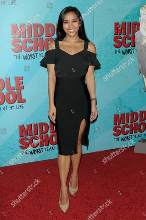 Editorial photo of 'Middle School: The Worst Years of My Life' film screening, Arrivals, New York, USA - 01 Oct 2016