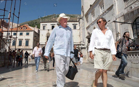 Editorial image of Nick Nolte and son Brawley on holiday in Dubrovnik, Croatia - 22 Aug 2006