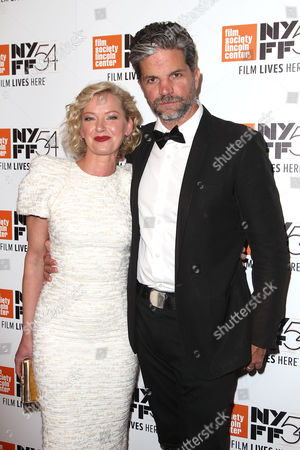 Gretchen Mol and Tod Williams (husband)