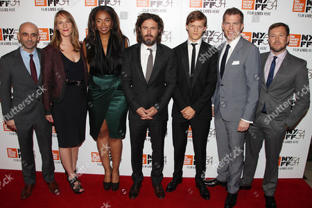 "Editorial picture of Amazon Studios and Roadside Attractions Present the NYFF Premiere of ""MANCHESTER BY THE SEA"", New York, USA - 01 Oct 2016"