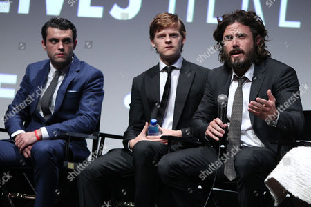 "Editorial photo of Amazon Studios and Roadside Attractions Present the NYFF Premiere of ""MANCHESTER BY THE SEA"", New York, USA - 01 Oct 2016"