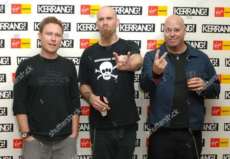 Stock Image of Hoss, Nick Oliveri and Ian Taylor