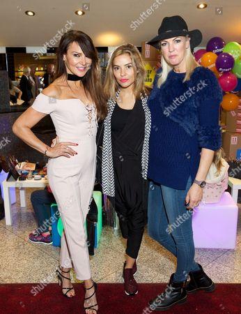 Lizzie Cundy, Elen Rivas and Nikki Welch