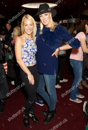 Stock Picture of Laura Hamilton and Nikki Welch