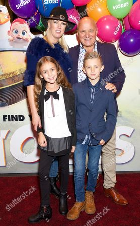 Nikki Welch, Aldo Zilli, son Rocco and daughter Tilly
