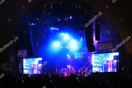 Stock Picture of Pretty Lights performs on the Queens Blvd stage at The Meadows Music Festival
