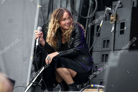 Zella Day performs on The Meadows main stage at The Meadows Music Festival