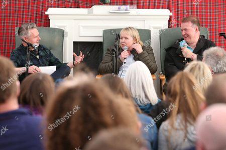 Edwyn Collins and Grace Maxwell in conversation with Vic Galloway - Vic Galloway, Grace Maxwell and Edwyn Collins