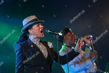 The Selecter - Pauline Black and Arthur 'Gaps' Hendrickson