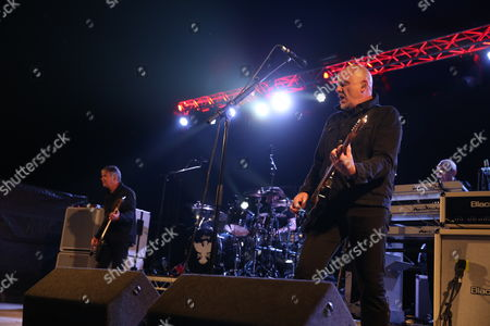 "The Stranglers - Jean-Jacques ""JJ"" Burnel, Jim MacAulay, Barry ""Baz"" Warne and David Greenfield"