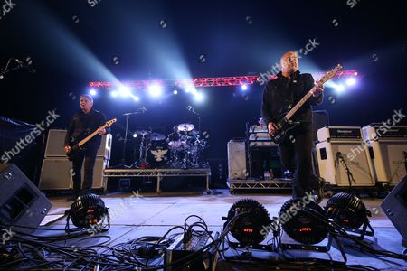 "The Stranglers - Jean-Jacques ""JJ"" Burnel, Jim MacAulay, David Greenfield and Barry ""Baz"" Warne"