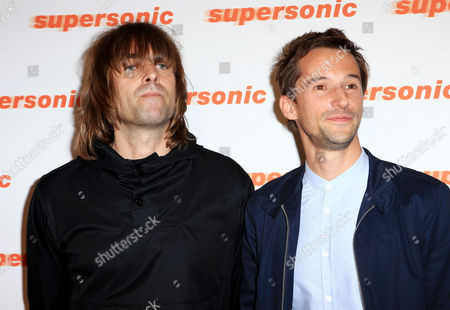 Liam Gallagher and Mat Whitecross