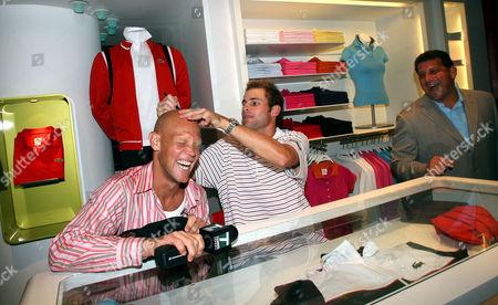 Murphy Jensen and Andy Roddick